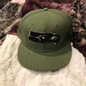 Brand new Seahawks hat!